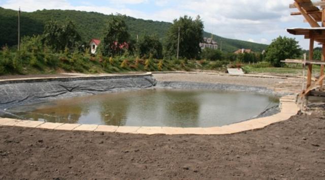 Как сделать искусственный пруд для разведения рыбы на участке