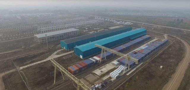 Строительство гигантского металлургического завода в Нижегородской области