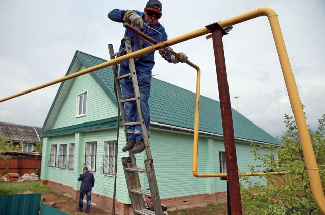 Частные дома бесплатно подключат к газу