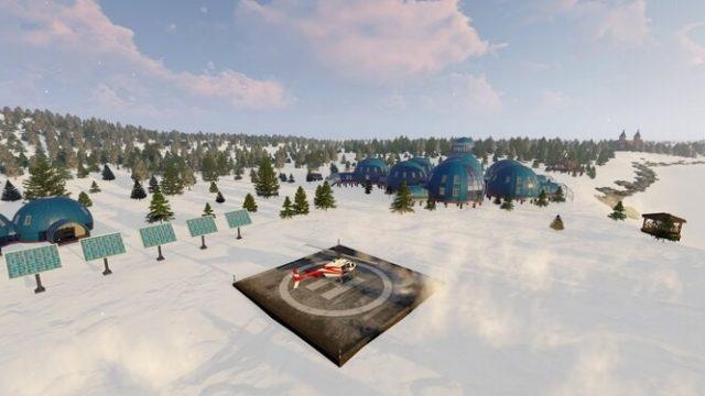 Научный эксперимент. Строительство исследовательской станции «Снежинка» в Арктике