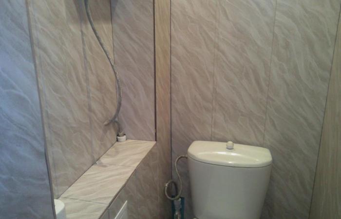 Ремонт ванной комнаты своими руками видео панелями фото 884