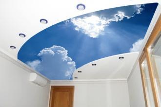 Бабочки на потолке дизайн фото