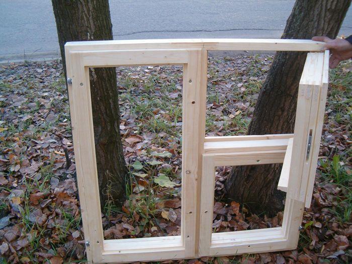 Деревянные окна своими руками фото фото 456