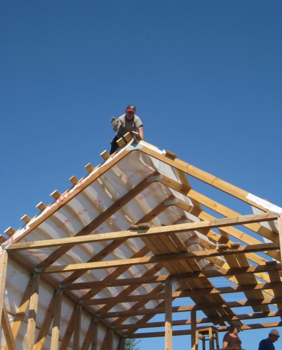 Технологии строительства крыши своими руками