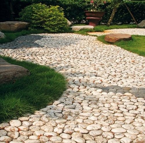 Садовые дорожки из бутового камня своими руками