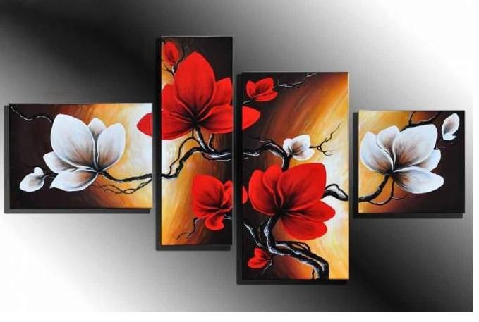 Цветы модульная картина