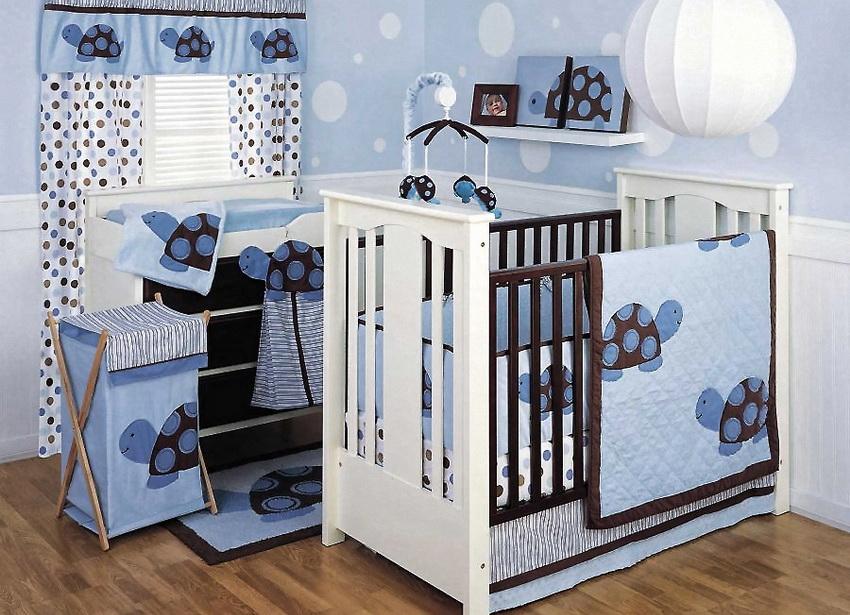 Комната для новорожденного мальчика своими руками