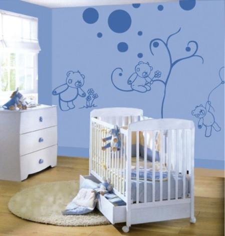 Детские комнаты своими руками для новорожденного мальчика