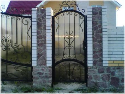 Железная ворота своими руками