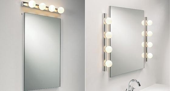 Зеркало с подсветкой в прихожую своими руками