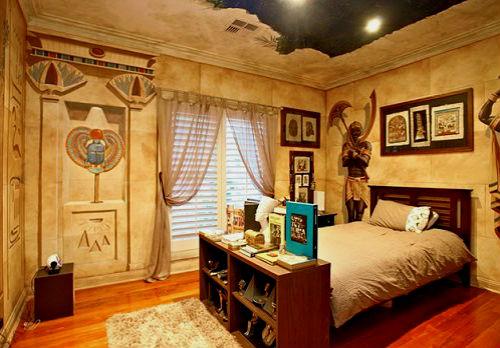 Спальня в египетском стиле фото