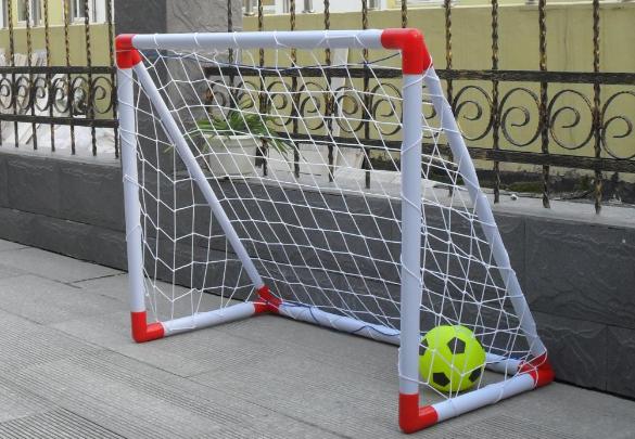 Футбольные ворота своими руками из дерева фото