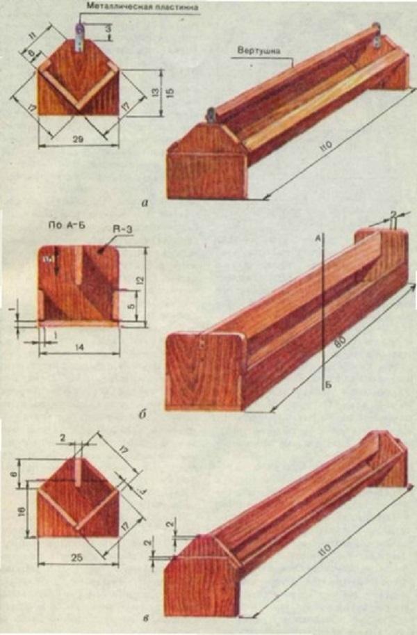 Кормушки для бройлеров своими руками из дерева