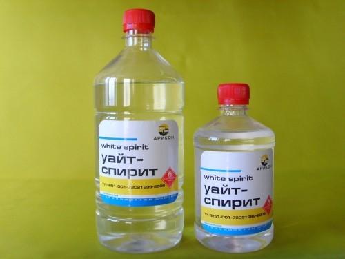 Резерв для батика из уайт спирита