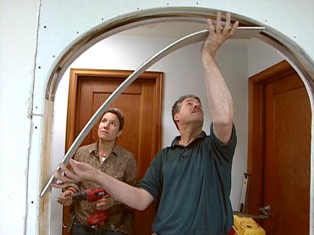 Как сделать арку в дверном проеме своими руками фото