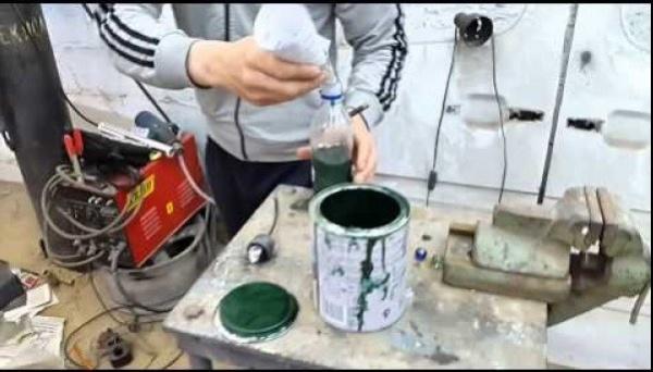 Сделать краску своими руками