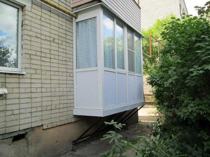Сделать балкон на первом этаже