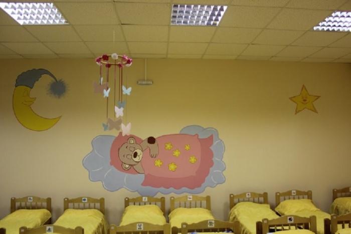 Украшение спален в детском саду фото