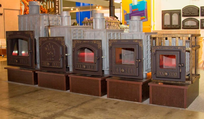 Чугунные печи для бани дровяные