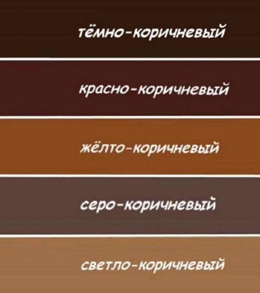 Как сделать из серого цвета коричневый и