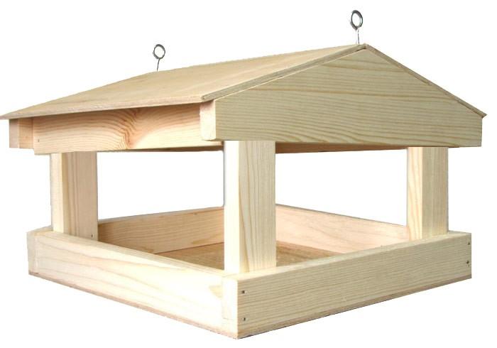 Как сделать деревянную кормушку для птиц своими 68