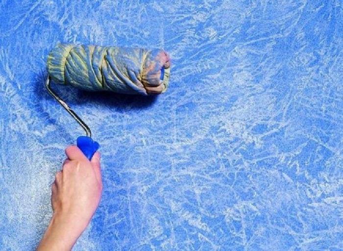 Как сделать валик для декоративной покраски своими руками 67