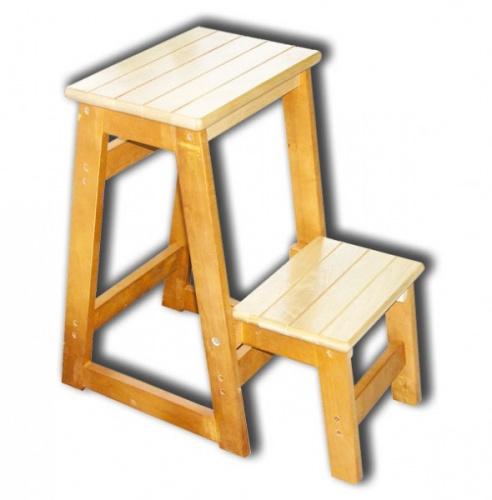 Табурет-лестница дерева своими руками