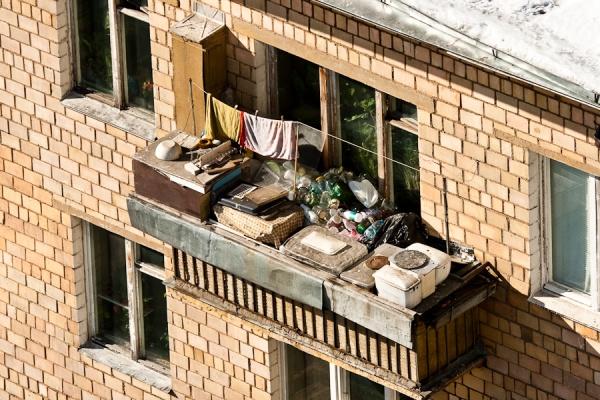оформление балкона маленького фото