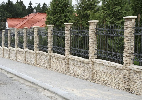Железобетонный забор своими руками фото 423