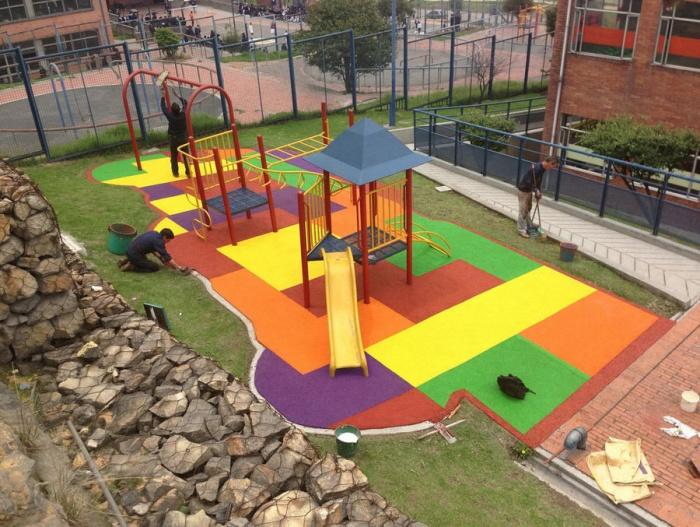 415Как сделать основание для детской площадки