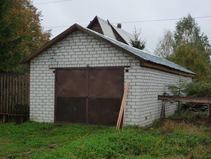 Постройка кирпичного гаража своими руками 42
