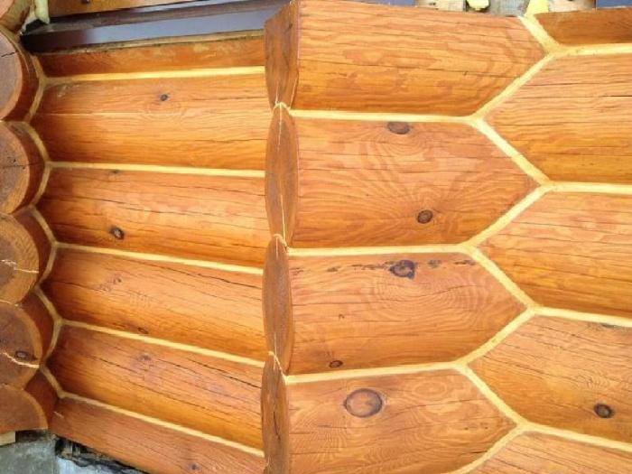Утепление швов в деревянных домов