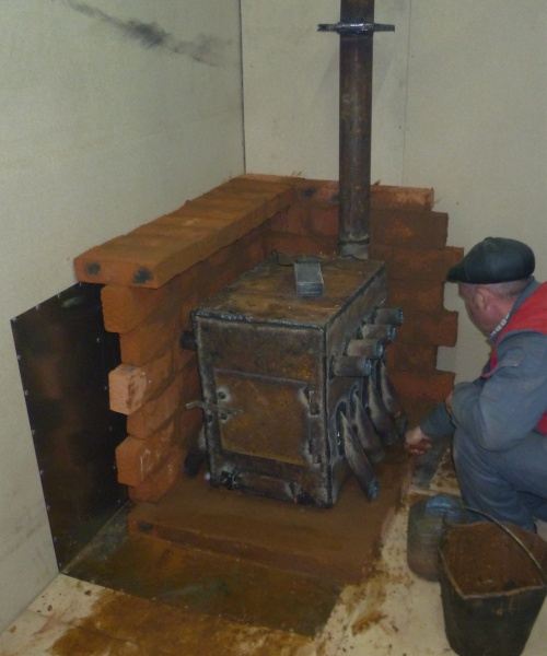 Экономная печь на дровах своими руками