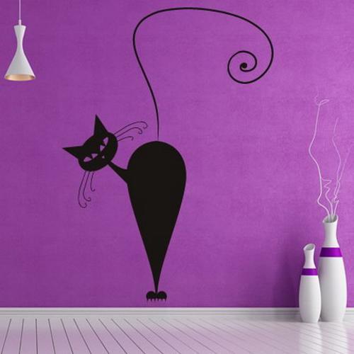 Коты на стене своими руками 564