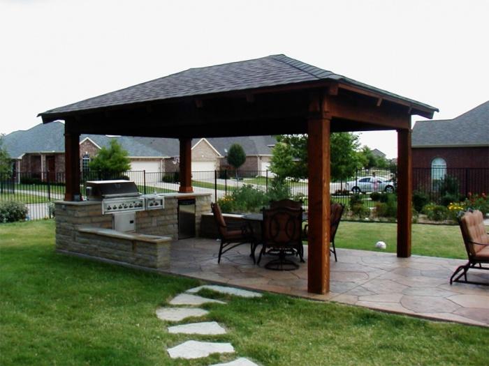 for Dallas outdoor kitchen designs