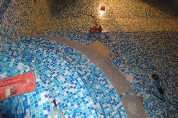 Гидроизоляция под мозаику в бассейне гидроизоляция декопроф где купить в спб