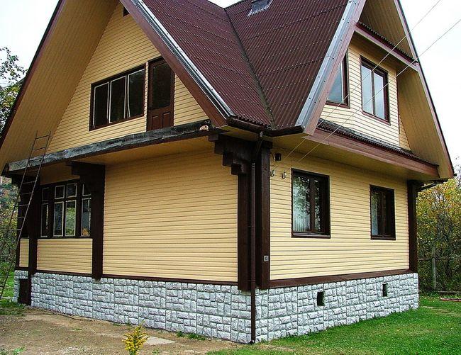 Цены работ по утеплению фасадов домов