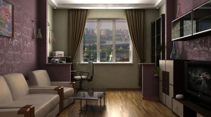 Дизайн комнаты 17 кв.м проходная комната