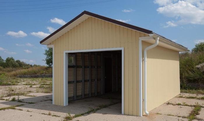 Построить гараж из шлакоблока своими руками видео фото 404