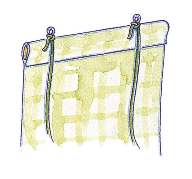 рулонные занавески на пластиковые окна