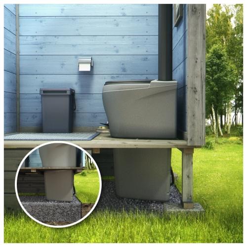 Как построить туалет на даче своими 45