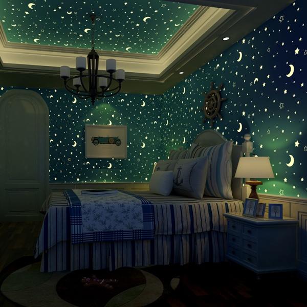 Интерьеры детских со звездами