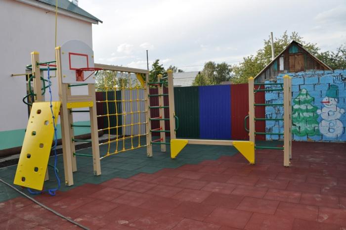 Спортплощадка для детского сада