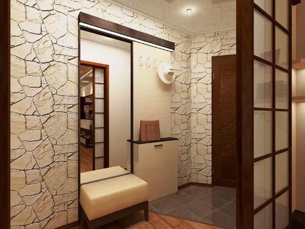 Идея коридоров в хрущевке фото