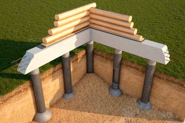 Фундамент для частного дома своими руками на сваях 33