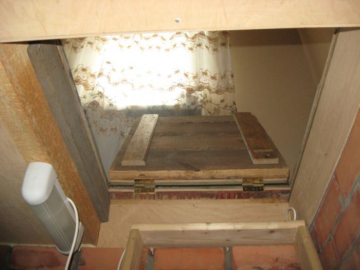 Как сделать крышку погреба в доме