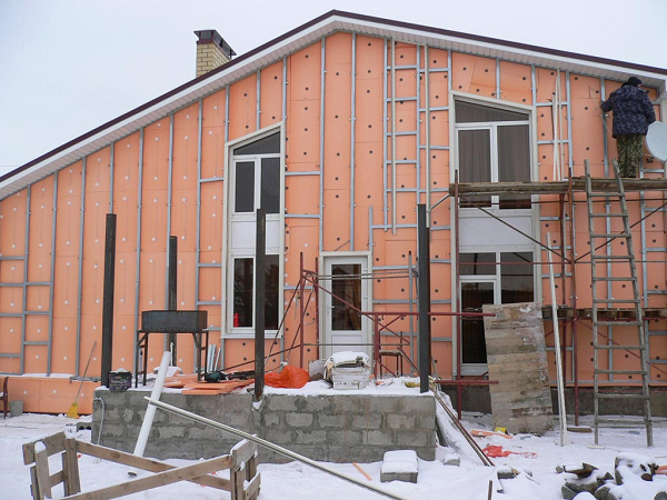Искусственные камни для отделки фасадов домов