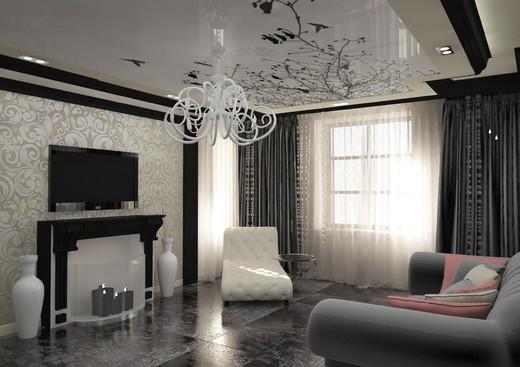 Дизайн залов в частном доме