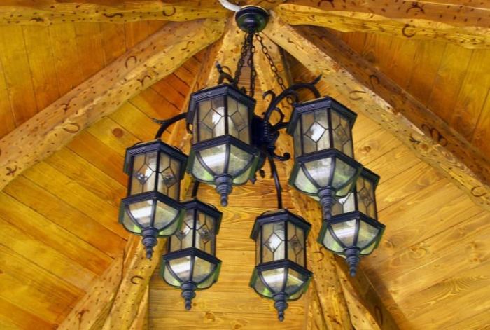 Светильники для беседки