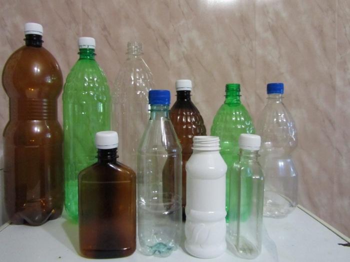 Постройки из бутылок для детского сада 187